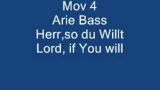 BWV 73 movs 3-5