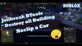ROBLOX-Btools e jailbreak noclip [UNPATCHED] 2018