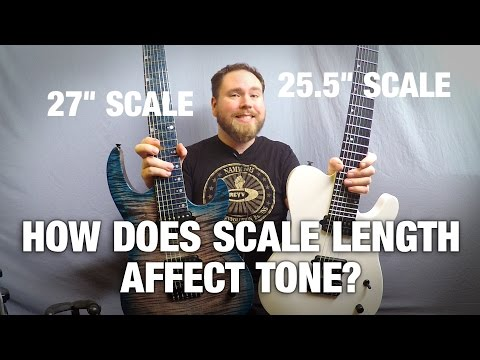 How Does Scale Length Affect Tone? Gear Gods Investigates!