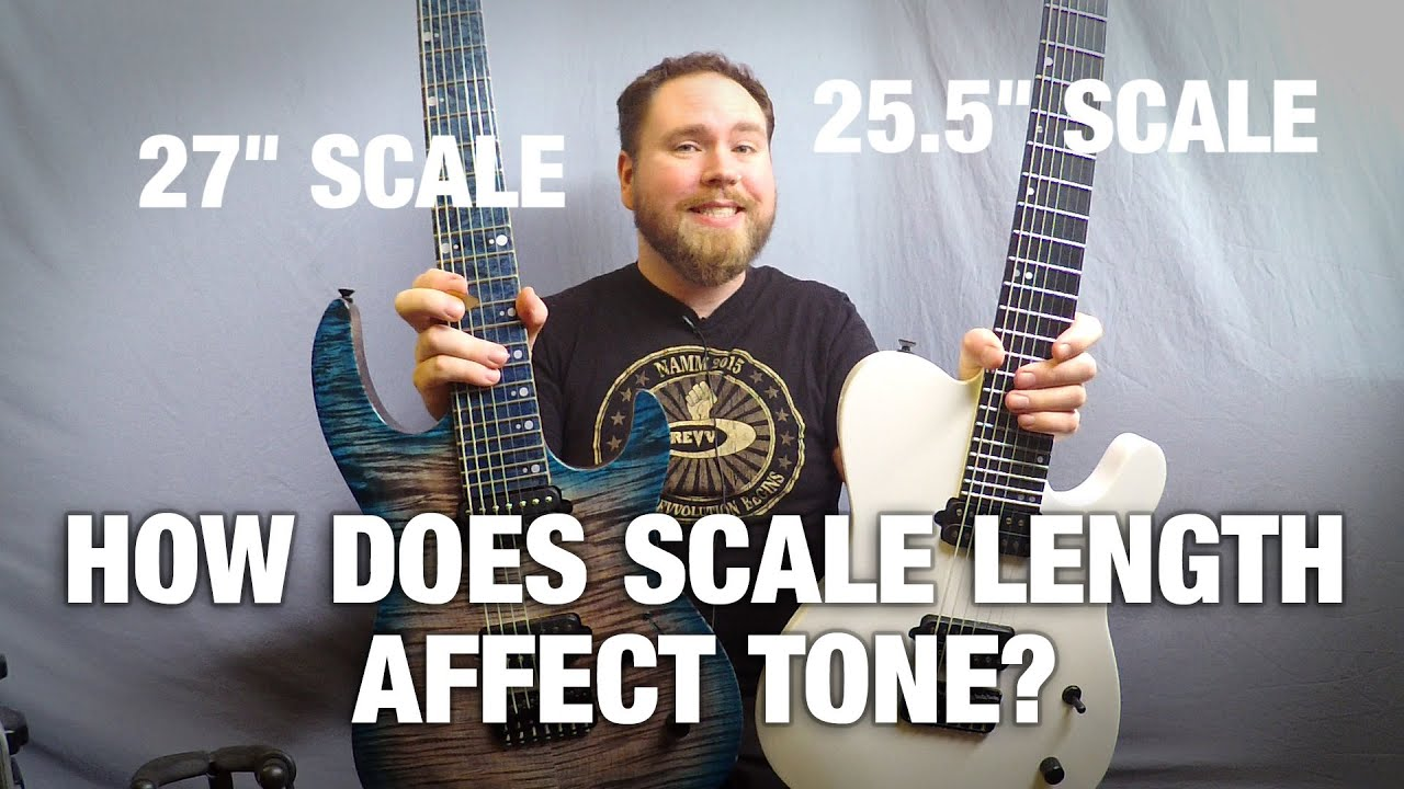 how does scale length affect tone gear gods investigates youtube