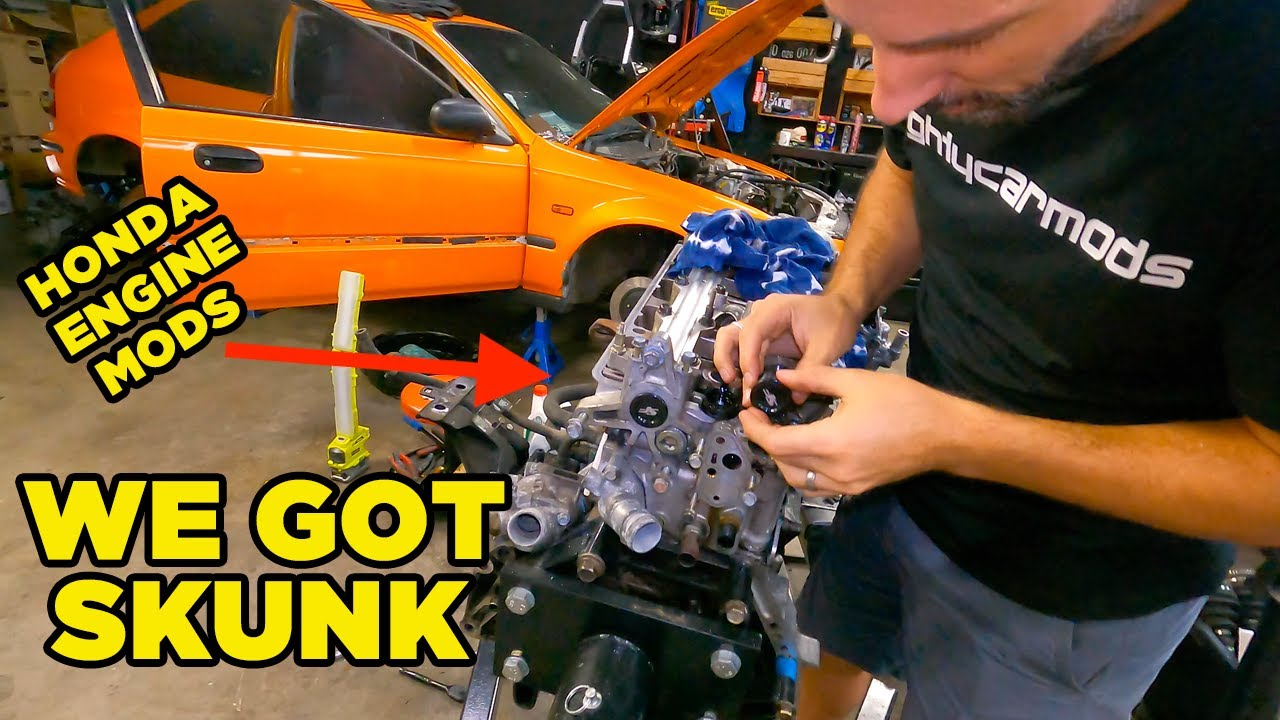 Spoon your SKUNK until he MUGENS - CIVIC Build (EP5)