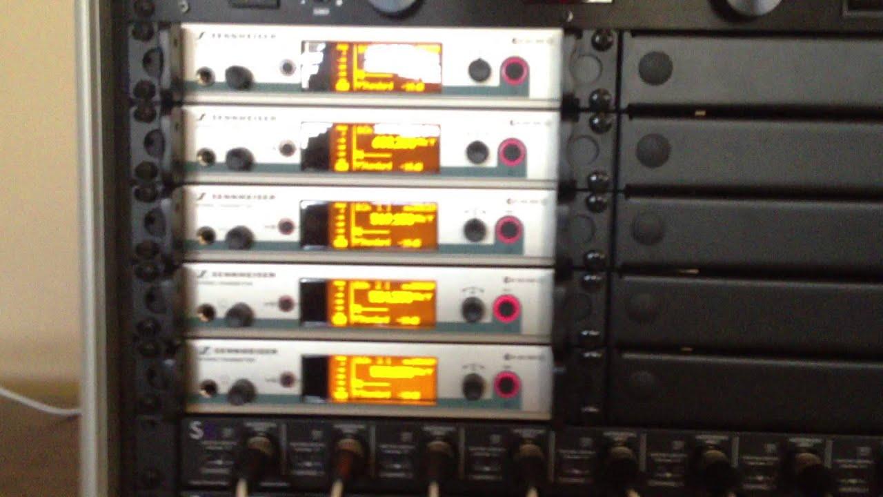 Presonus 16 4 2 And Sennheiser Ew 300 Iem System In Ear