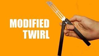 Butterfly Knife Tricks for Beginners #9.9 (Mod Twirl)