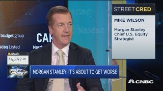 This sell-off is just beginning and is going to get worse, says Morgan Stanley