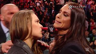 Ronda Rousey wrecks Triple H, signs WWE contract