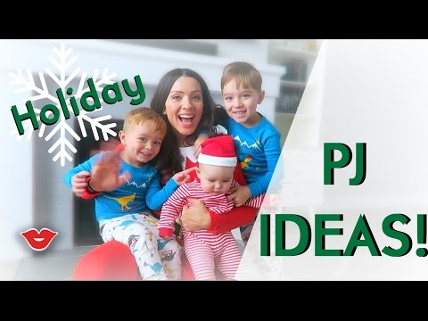 5 Family Christmas Pajama Ideas | Michelle from Millennial Moms