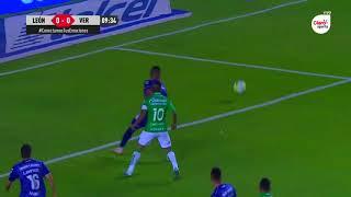 Gol de J. Meneses | León 1 - 0 Veracruz | LIGA Bancomer MX - Clausura 2019 - Jornada 11