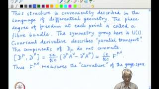 Mod-03 Lec-31 Abelian local gauge symmetry, The covariant derivative and invariants