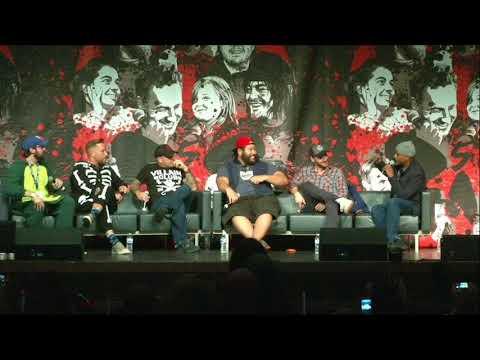 The Walking Dead: Ross Marquand, Cooper Andrews, & Seth Gilliam Panel WSC Atlanta 2017