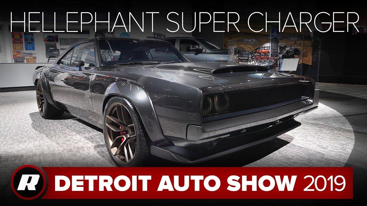 Hellephant 68 Dodge Super Charger Concept Detroit 2019 Youtube