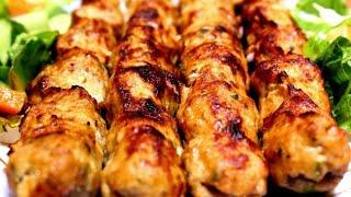 كفته الدجاج باسهل طريقة وطعم خيااااال من اكلات شهر رمضان المبارك