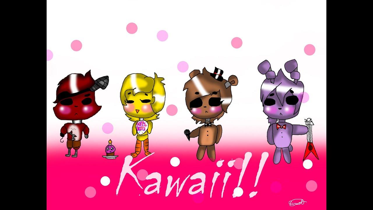 Fnaf speedpaint cute animatronics youtube - Fnaf cute pictures ...
