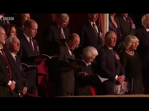 I Vow To Thee My Country - Royal British Legion Festival of Remembrance 2016
