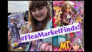 Flea Market Finds! Amazing In-Box Dolls Score at New Castle County! Bratz, Moxie Teenz & More!