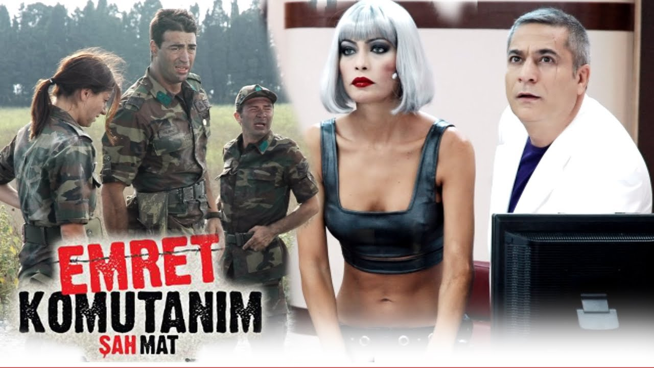 Emret Komutanım Şah Mat -  HD Türk Filmi İzle