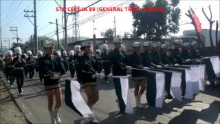 Philippine Marching Band - Taytay Town Fiesta 2014