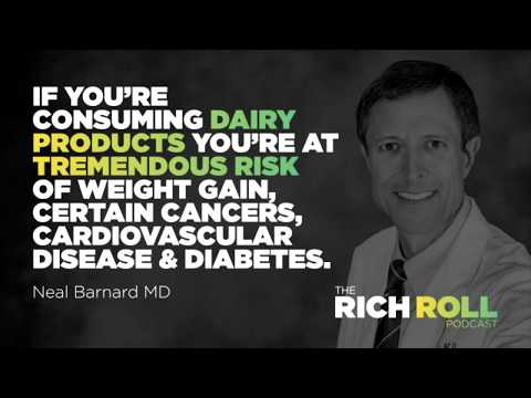 Rich Roll Podcast Episode #296: Dr. Neal Barnard, M.D. On Breaking The Dairy Addiction