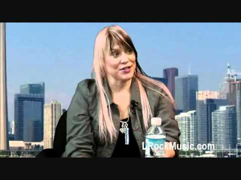 "L'Rock discusses her new album ""Law of Attraction"" on Liquid Lunch (ThatChannel com: 2012 04a 26)"