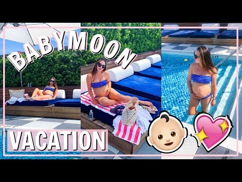 TRAVEL WITH ME SUMMER 2019! FIRST PREGNANCY VACATION | Alexandra Beuter