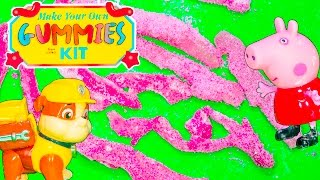 GUMMIES How To Make Worlds Largest Gummie Bears Paw Patrol + Funny Pig Candy Toys Video