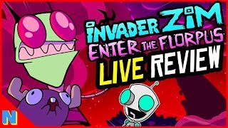 'Invader Zim: Enter the Florpus' Review + Discussion | Nerdflix + Chill Live