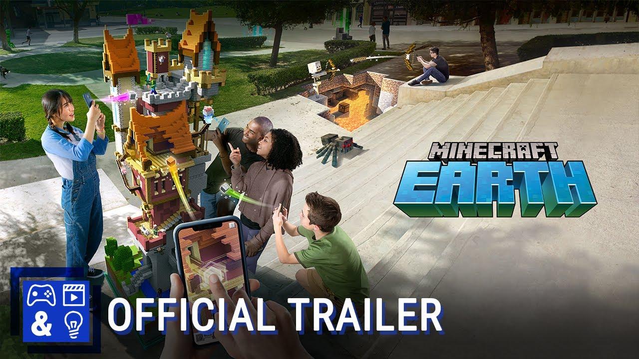 Minecraft Earth Trailer YouTube