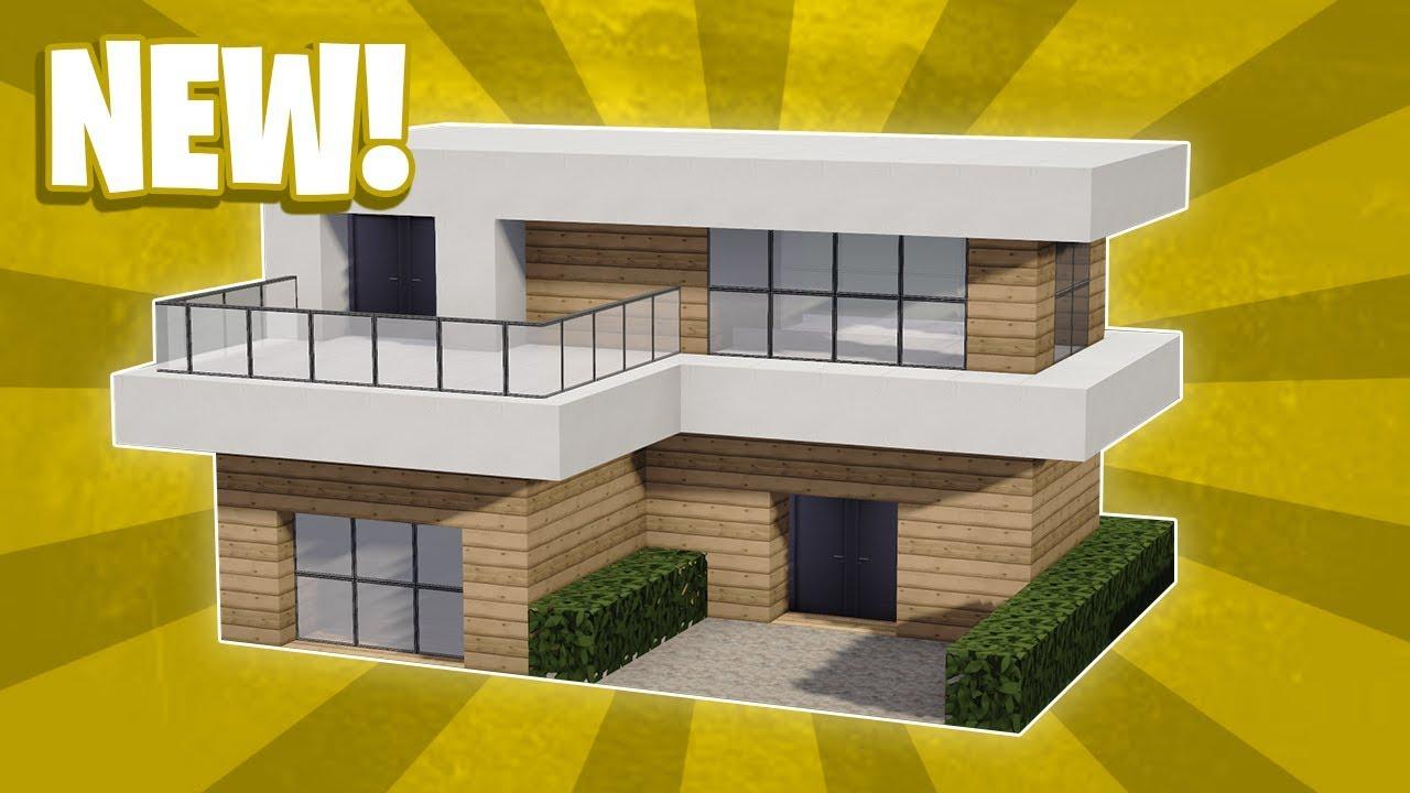 Minecraft House Toutorial Modern House - Zion Star