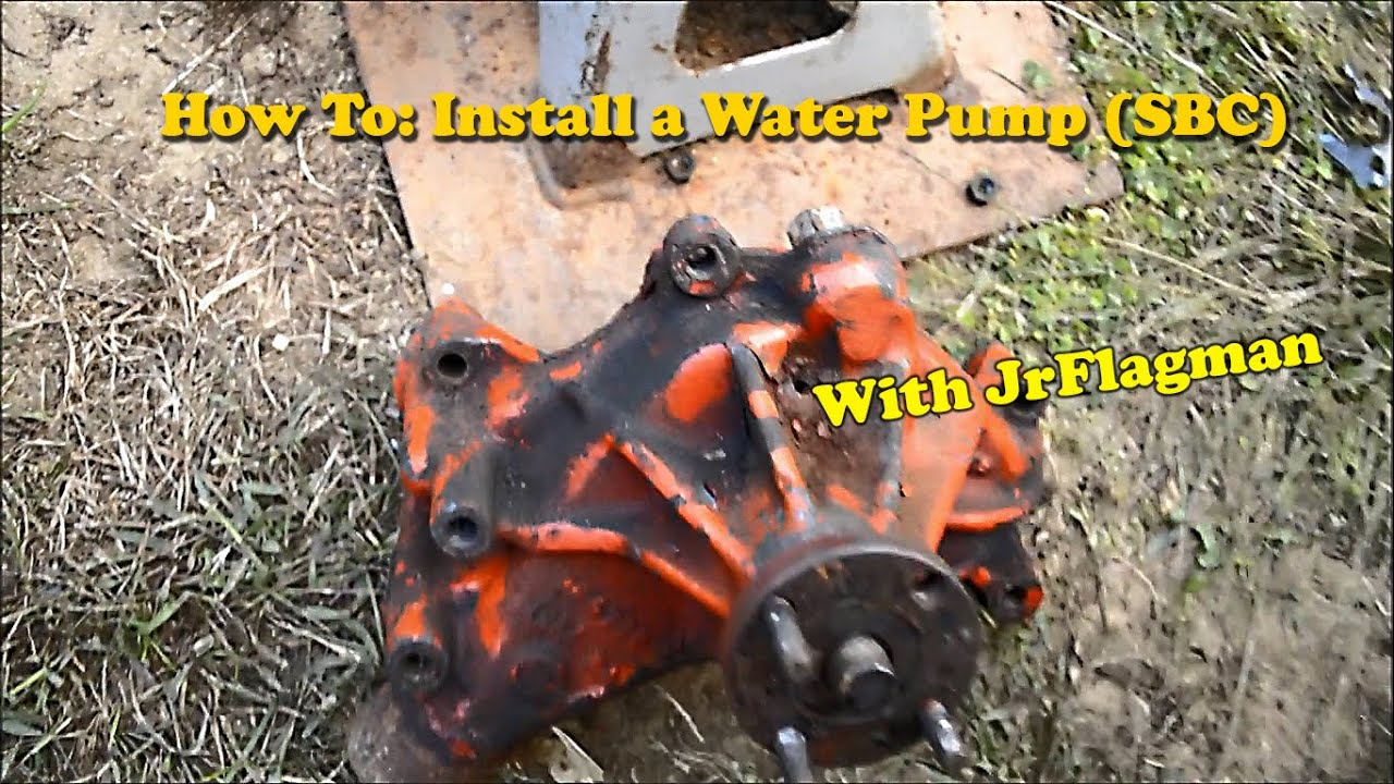 How To Replace A Water Pump Small Block Chevy