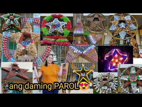 DIY/Christmas Lantern/Parol Making Contest using recycled and indigenous materials/Philippines