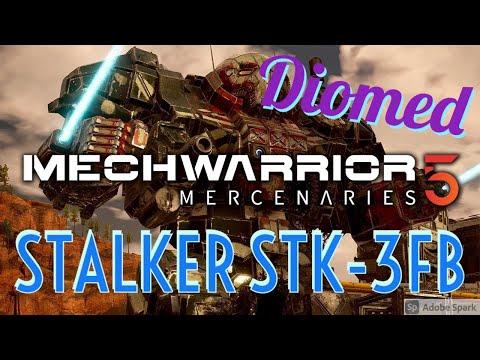 Mechwarrior 5 Hero's of the Inner Sphere   Stalker Assault mech with Lost Tech |
