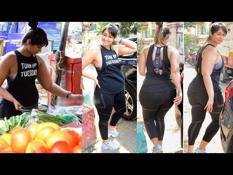 Actress Ileana D'Cruz After Workout Spotted at Vegetable Market in Mumbai   Gossip Adda