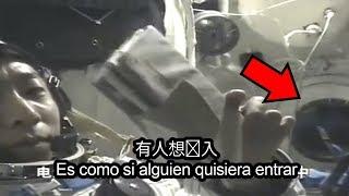 El astronauta chino que escuchó extraños golpes en su nave espacial