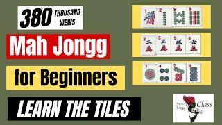 Mah Jongg for Beginners 1 - American - Learning the Tiles - Learn to Play Mah Jongg