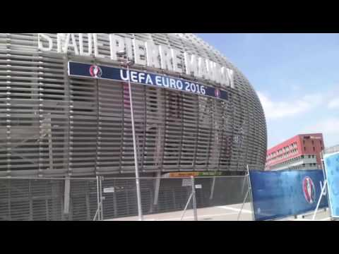 "Tourism in france Stadium ""pierre mauroy"" - lille -"