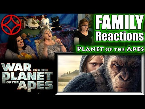 WAR For The Planet Of The Apes | FAMILY Reactions