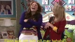 Hannah Montana part 1 (Japanskari talu og Føroyskum teksti - Stuttligt clip)