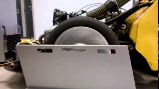 PASSAGE AU BANC 2CV PROMO MOTEUR BMW 850GS