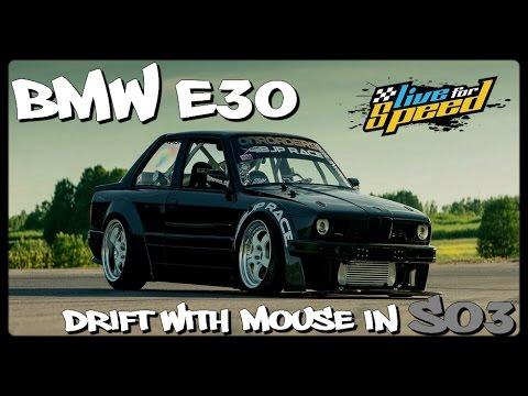 LFS - XRT BMW E30 Drift Com Mouse Na SO3