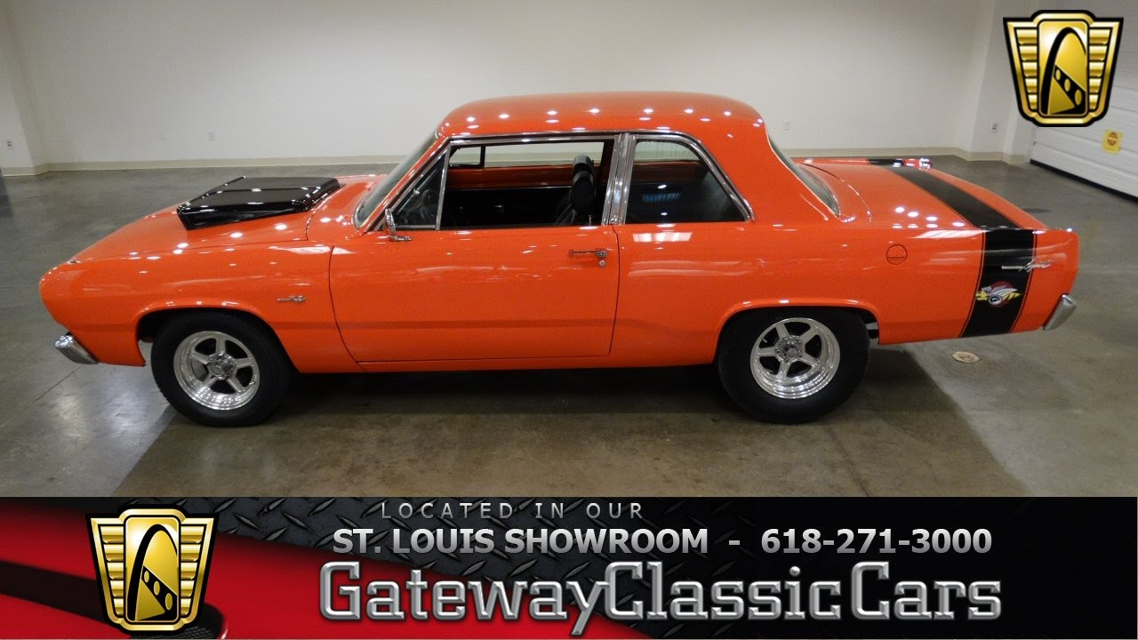 6950 1967 plymouth valiant gateway classic cars st louis youtube