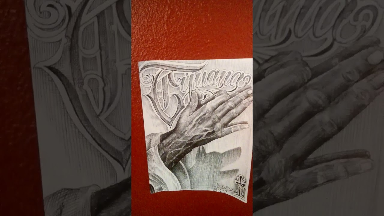 Masse Tattoos Xolo Pray Hands Youtube