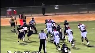 Jordan Williams (Junior) Jack Britt High school Football (4-AA) Highlights