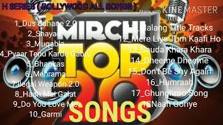 Mirchi Top 20 Songs || Mirchi Award Songs || letter Bollywood Hindi Songs
