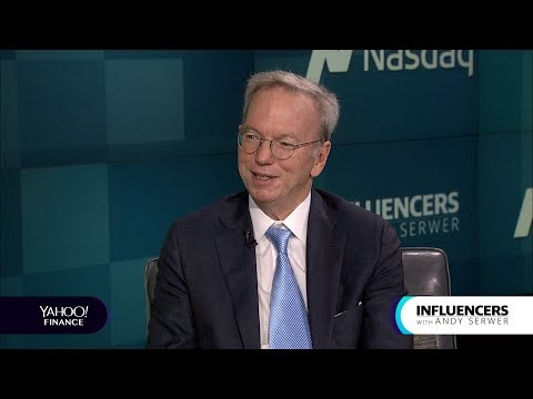 Former Google CEO Eric Schmidt discusses the 'reckoning of the internet'