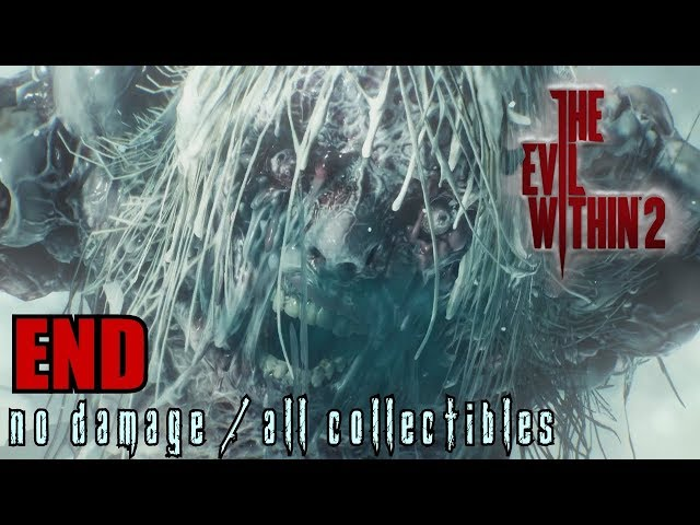 The Evil Within 2 Walkthrough END - A Way Out No Damage / All Collectibles