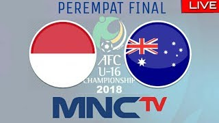 Live Streaming Indonesia vs Australia, Piala Afc U16 2018