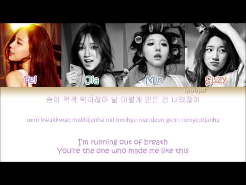 Miss A - Only You (Color Coded Han Rom Eng Lyrics)