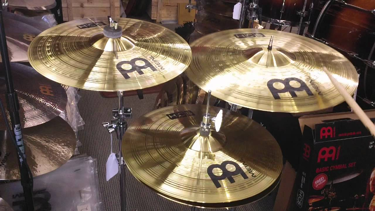 meinl hcs basic cymbal set 18c r 14h 14c youtube. Black Bedroom Furniture Sets. Home Design Ideas
