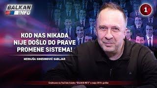 INTERVJU: Nebojša Simeunović - Kod nas nikada nije došlo do prave promene sistema! (23.5.2019)