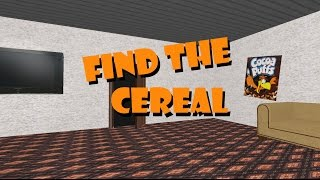 Find The Cereal
