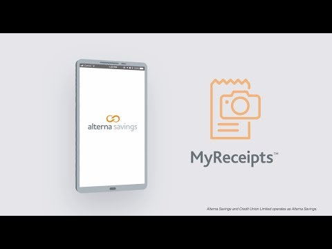 Alterna Savings MyReceipts™| Receipt Management Tool for Expenses, Taxes and More on the Mobile App